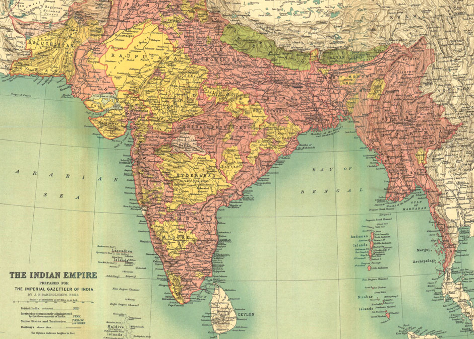 1922_Map_of_India_by_Bartholomew_in_Imperial_Gazetteer_of_India