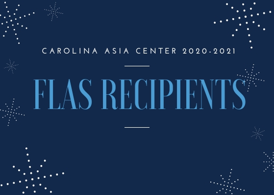 CAC 2020-2021 FLAS Recipients