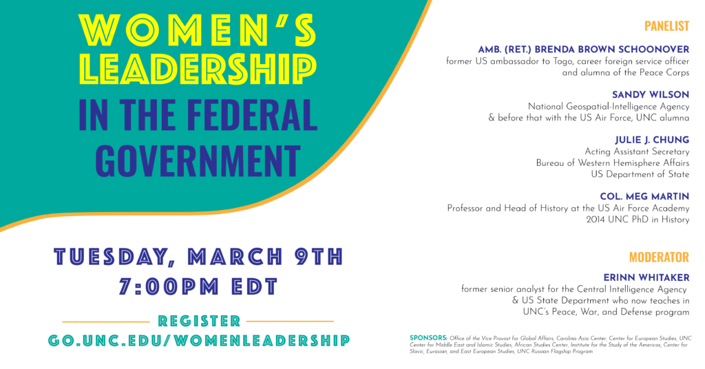 Women's Leadership in Government